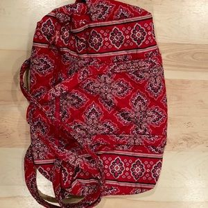 Vera Bradley Small Duffle Bag Red